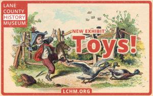 Toys postcard