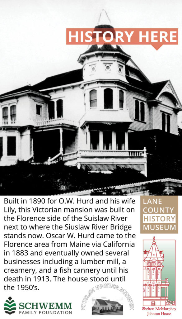 Hurd House History Here Poster