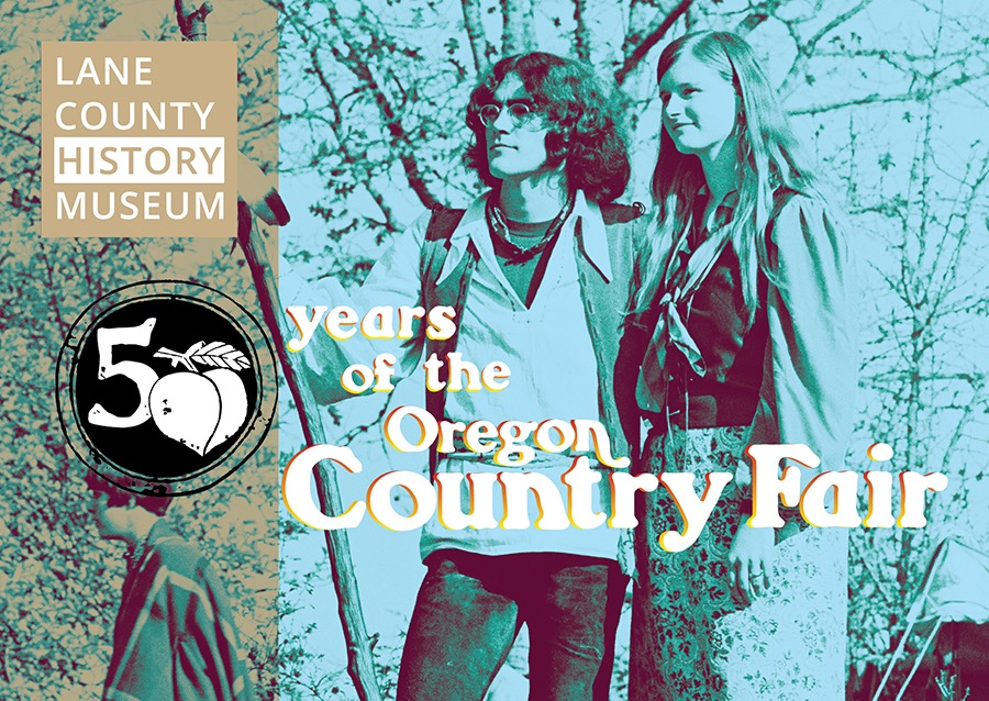 Oregon Country Fair exhibit promotional card