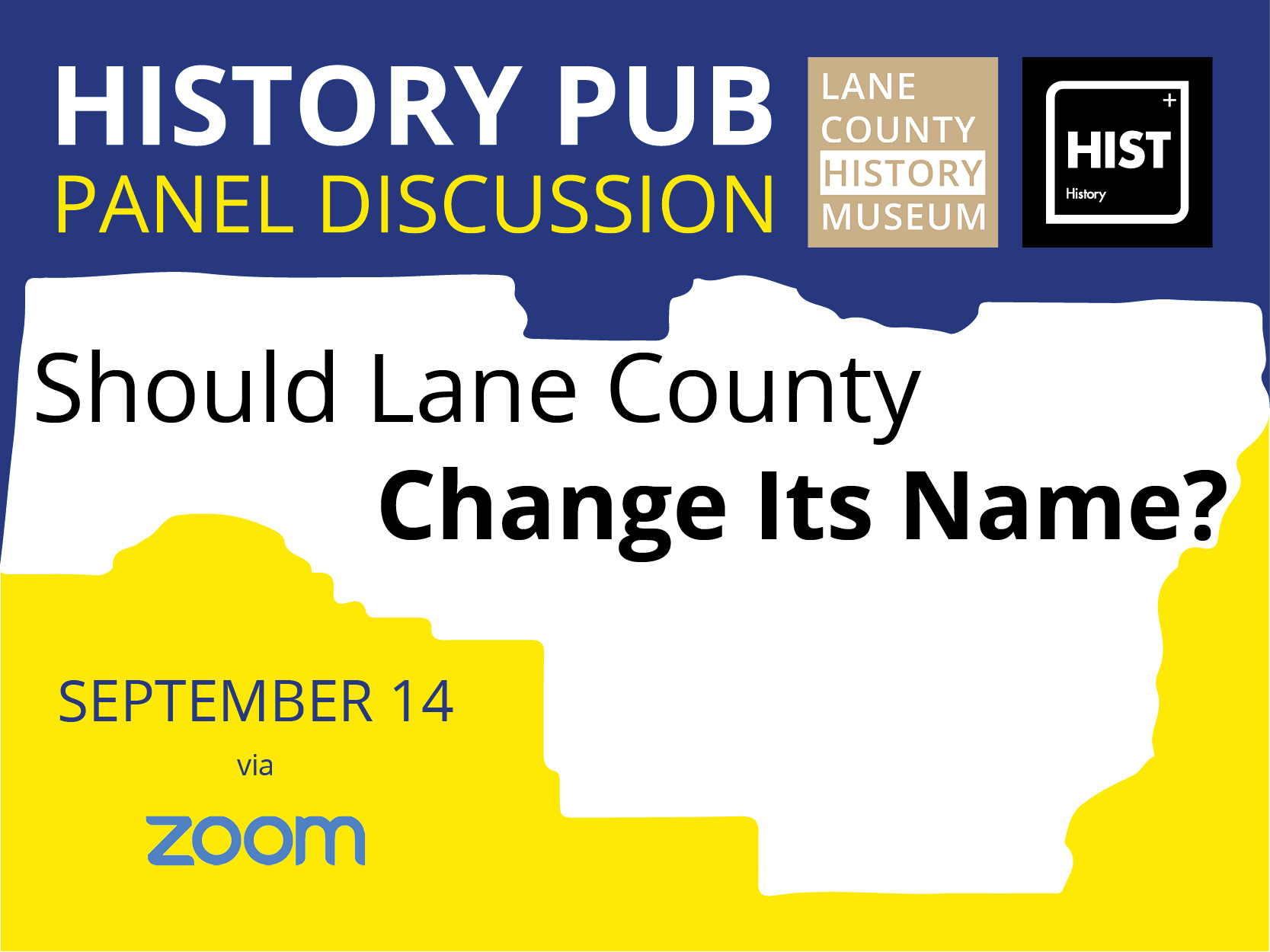 Rename Lane County Panel discussion