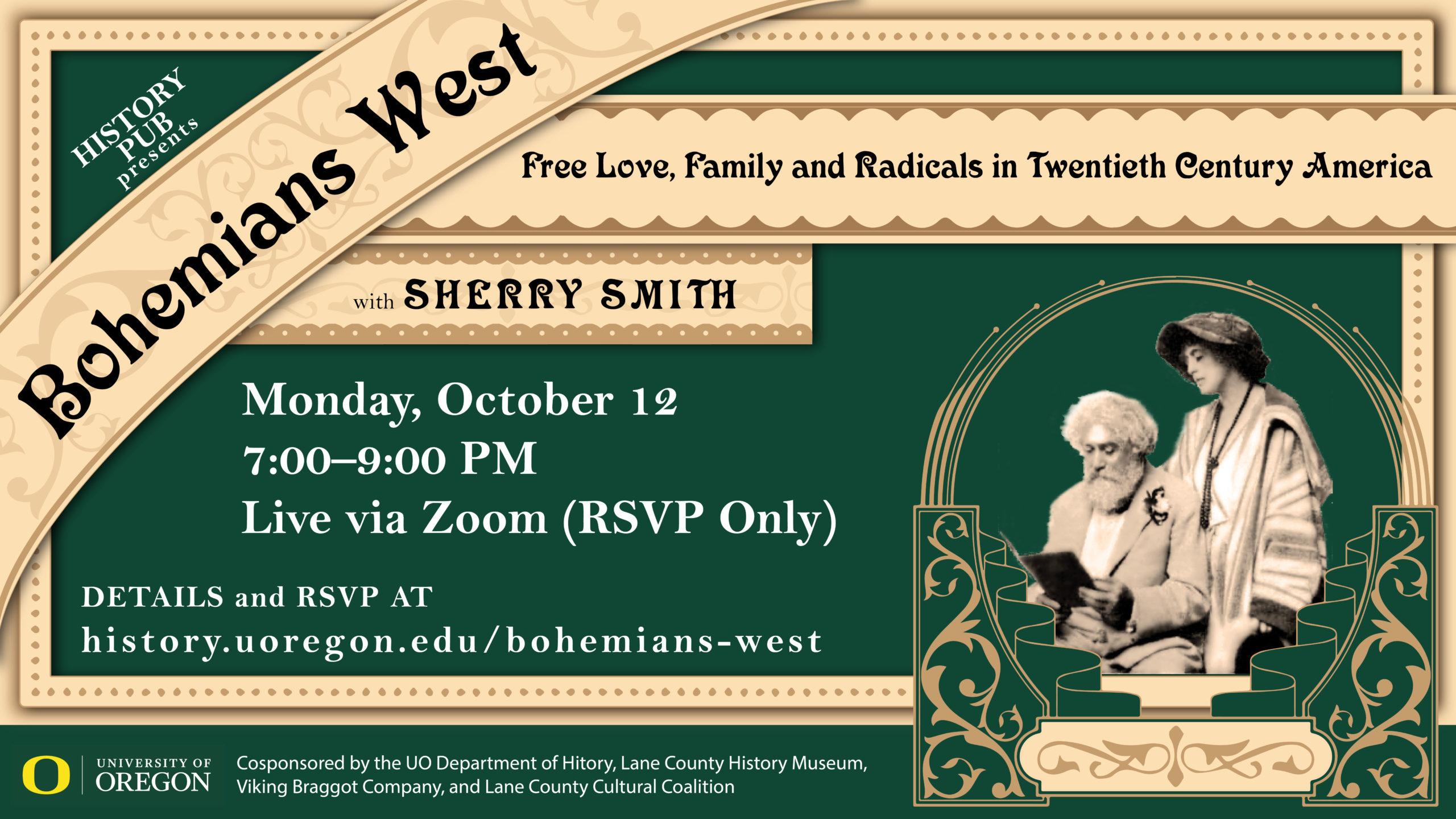 History Pub Poster: Bohemians West